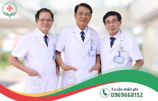 Đội ngũ bác sĩ chữa liệt dương, yếu sinh lý, rối loạn cương dương