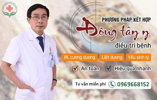điều trị rối loạn cương dương, liệt dương, yếu sinh lý