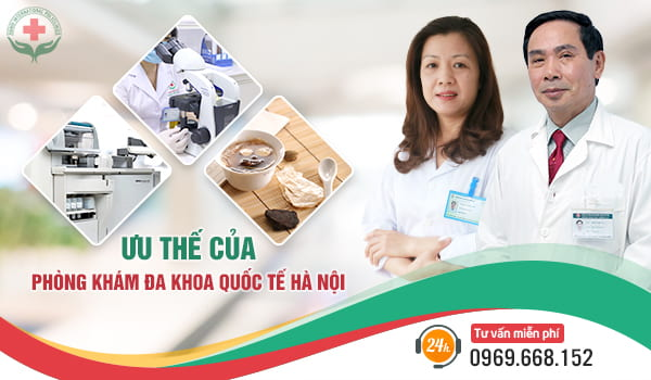 phòng khám đa khoa quốc tế Hà Nội