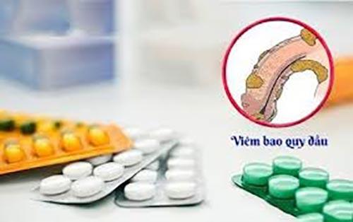 Thuốc chữa viêm bao quy đầu gồm những thuốc gì?